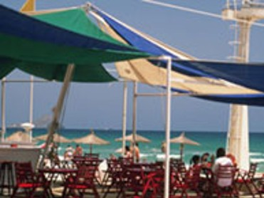 Bar en la playa