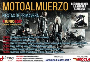 4th June Bikers breakfast in La Aljorra, Cartagena