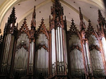 Until June 2019, free organ recitals in and around the city of Murcia
