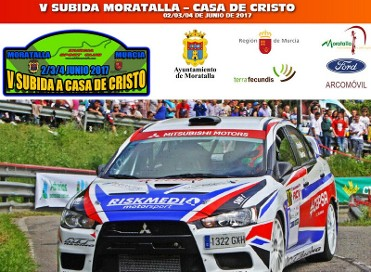 2nd to 4th June Moratalla rally sprint; V Subida Automovilistica a Casa de Cristo