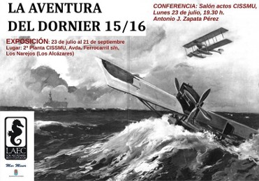 Exhibition Los Alcázares: The flight of the Dornier from Los Alcázares to New York
