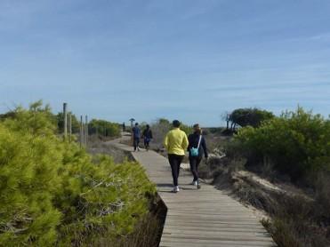 22nd April 4.3km free guided route in San Pedro del Pinatar Salinas natural park