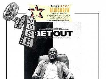 25th May ENGLISH language cinema at the Parque Almenara in Lorca: Get Out