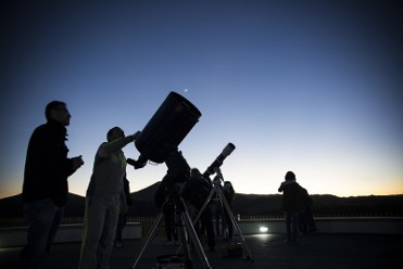 Every Wednesday and Saturday evening visit the Puerto Lumbreras astronomical observatory