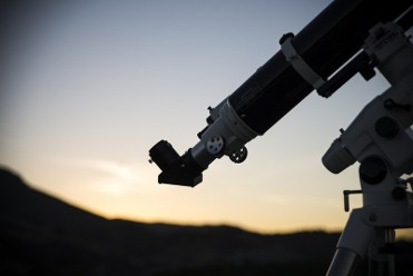25th November evening visit to the observatory in Puerto Lumbreras