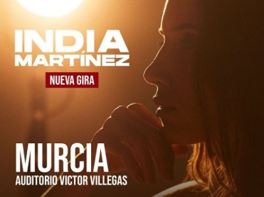 10th December, India Martínez live in concert at the Auditorio Víctor Villegas in Murcia