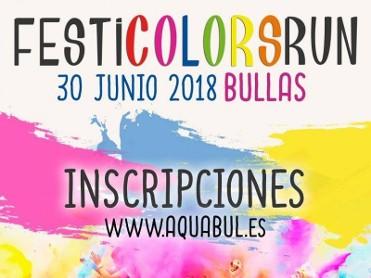 30th June Bullas Festi Colours Run