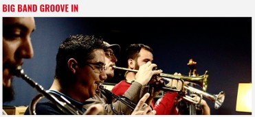 25th November, Cartagena Jazz Festival, free open-air concert featuring Big Band Groove In