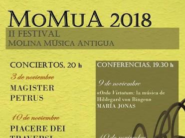 17th November MOMUA 2018 Free concert of Early Music in Molina de Segura