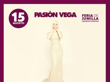 15th August, Pasión Vega live in concert in Jumilla