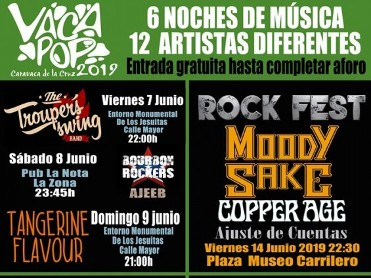 Friday 21st June Free symphonic rock concert in Caravaca de la Cruz