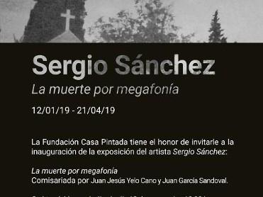 La muerte por megafonía, de SERGIO SÁNCHEZ